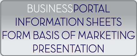 Use BusinessPortal-FR as the basis of the marketing presentations