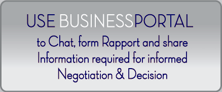 Use BusinessPortal-FR to Chat, form Rapport and share Information